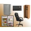 5 комплектов мебели для офиса:  стол+тумба+стул
