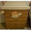 Кровать и комод для грудного ребёнка пр-ва Италия