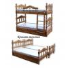 Кровати одно,  двух,  трехъярусные;  комоды,  шкафы,  прихожие,  кухни,  диваны,  столы,  стулья из ДЕРЕВА и ЛДСП.  Матрасы.